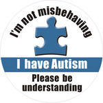 Autism Button
